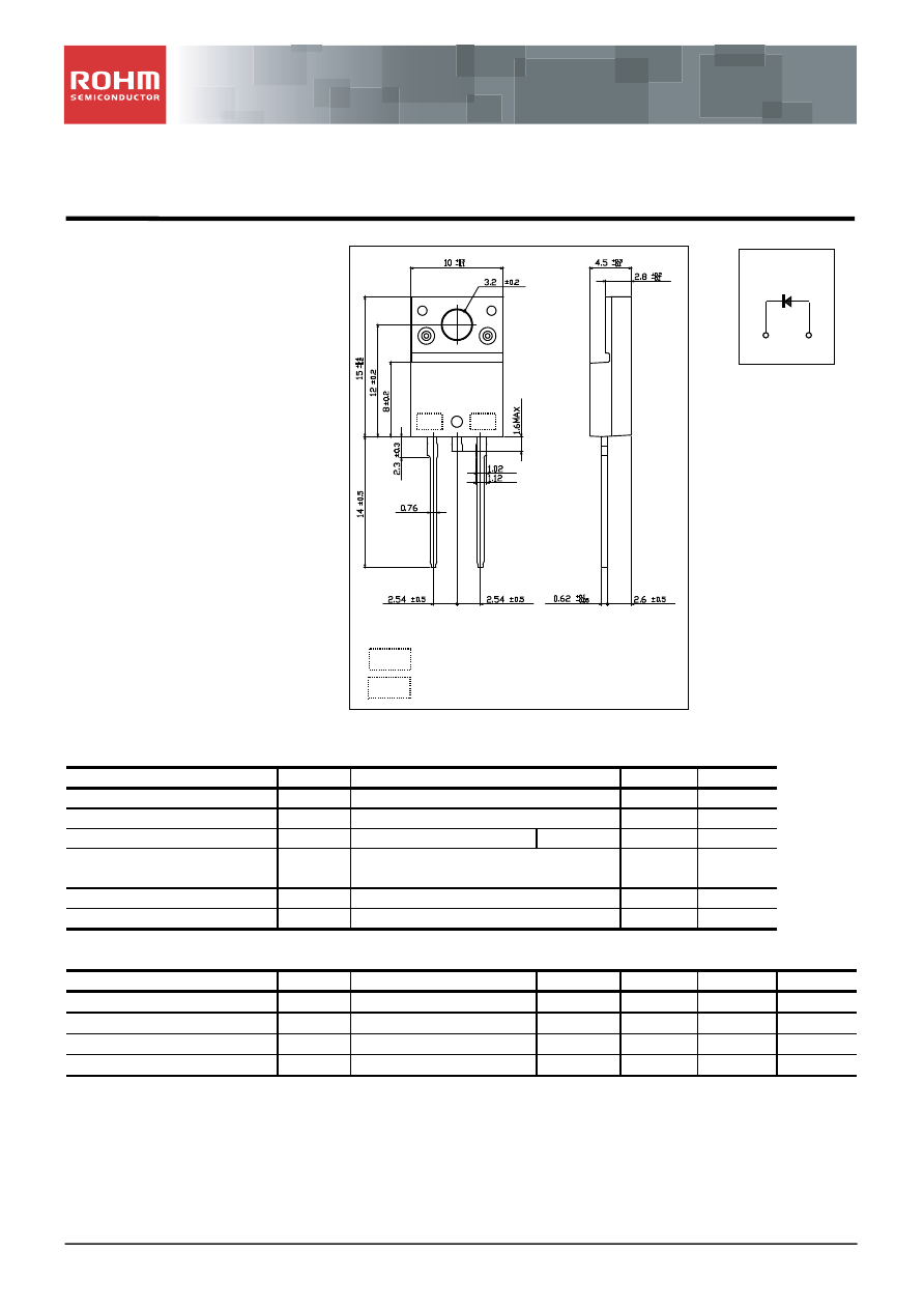 RFUS10TF4S Datasheet (PDF Download) 1/5 Page - ROHM