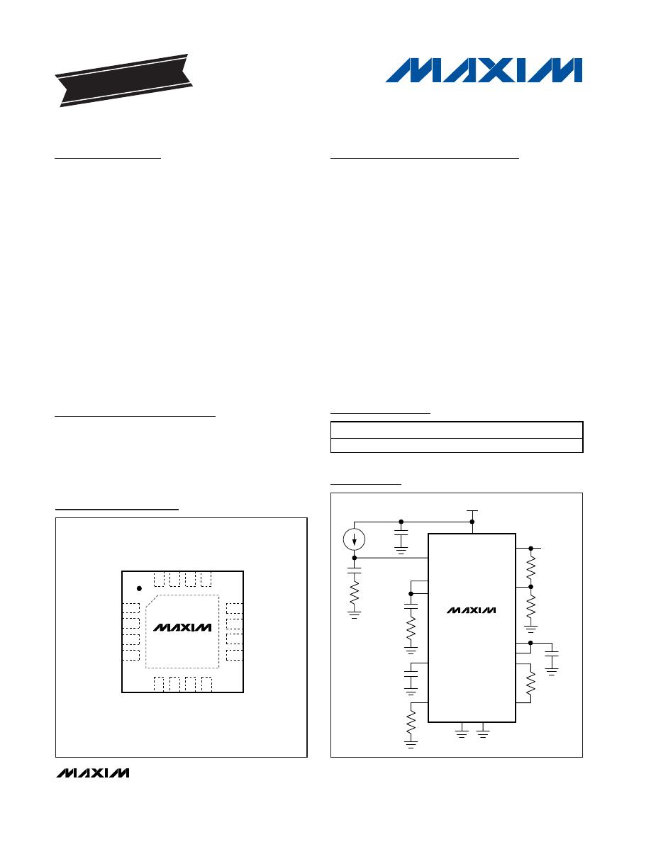 MAX4206ETE+ Datasheet (PDF Download) 1/17 Page - Maxim