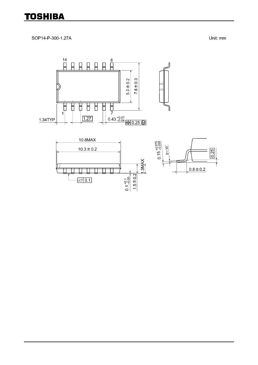 Tc4081bp(n) datasheet (pdf download) 6/7 page toshiba.