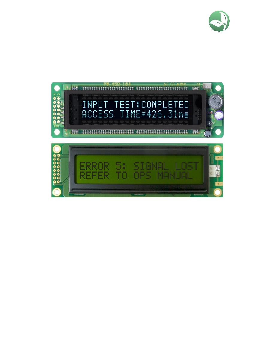 CU16025-UX6J Datasheet (PDF Download) 1/2 Page - Noritake Co