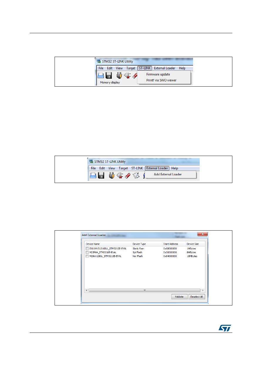 ST-LINK/V2 Datasheet (PDF Download) 14/43 Page - STMicroelectronics