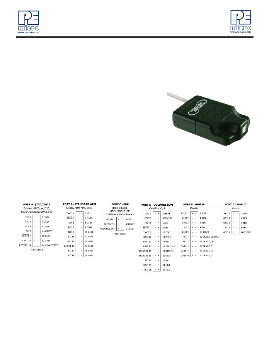 U-MULTILINK Datasheet (PDF Download) 1/4 Page - Freescale