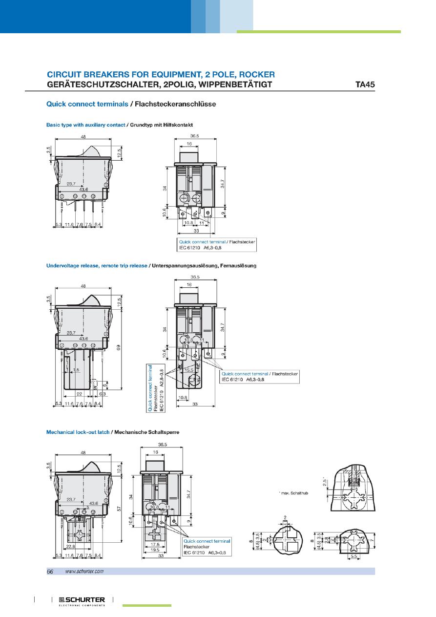 ta45 azz31 datasheet (pdf download) 12 14 page schurter Basic Electrical Wiring Diagrams at Schurter Ta45 Wiring Diagram