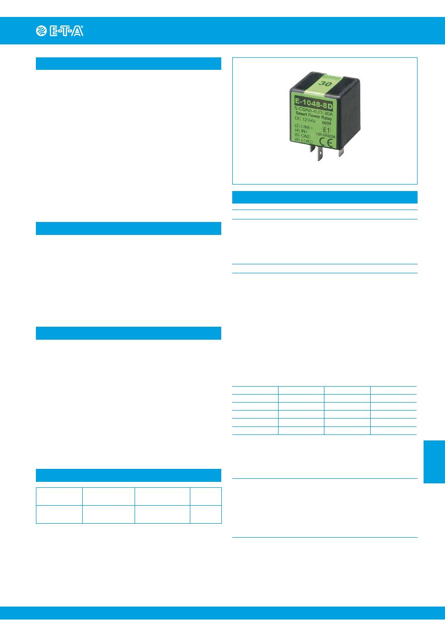 E 1048 8d4 C0a0 4u3 1a Datasheet Pdf Download 1 4 Page T A On Electrical Relay